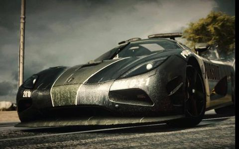 """In the latest """"Need For Speed,"""" titled """"Rivals,"""" the police drive Koenigseggs."""