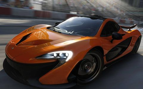The McLaren P1 is Forza 5's featured car, and for good reason.