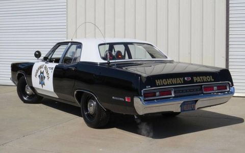 The seller claims that this 1970 Mercury Monterey is a real California Highway Patrol car, and he's got the documentation to prove it.