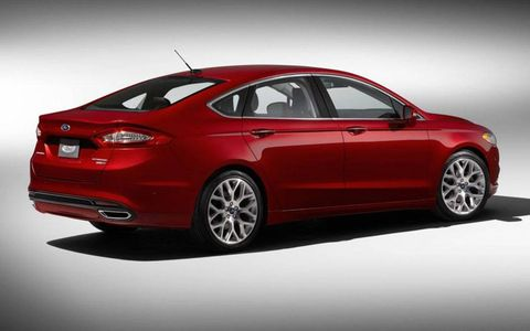 We loved the styling of the Fusion Titanium, one of the best looking in its class