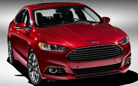 The EcoBoost in the Fusion had a good amount of power for us