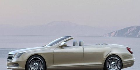 The Concept Ocean Drive is a Mercedes, an ominous sign for the Maybach brand.