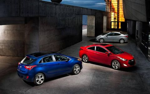 The GT will join the sedan and new coupe in the Elantra lineup