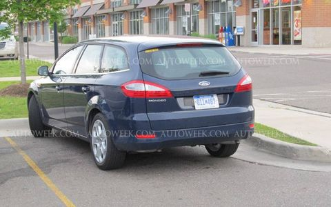 Could this Ford Mondeo tester signal the return of the midsize Ford wagon in the U.S.?