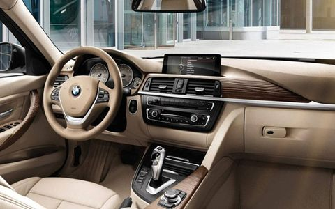 The interior was subpar from what we're used to seeing from BMW