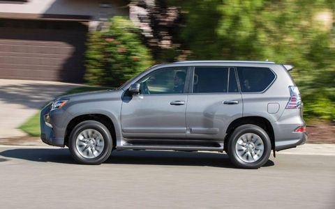 The 2014 Lexus GX 460 Luxury makes for an excellent drive.