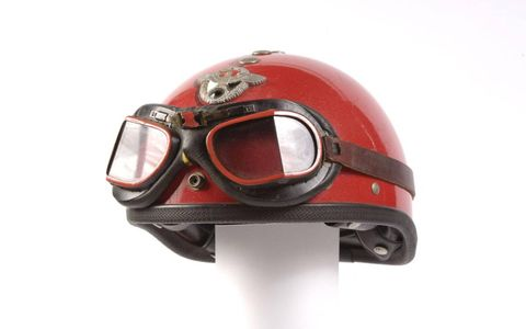 Von Dutch's personal helmet