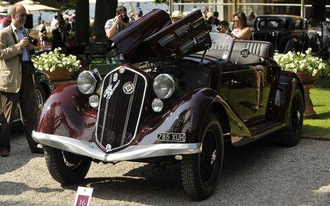 A 1935 Alfa Romeo 6C 2300.