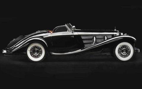 Already a rare car, the 1936 Mercedes-Benz 540K Special Roadster has a unique history: it was once owned by the Baroness Gisela Josephine von Krieger