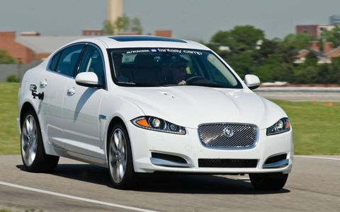 2012 Fantasy Camp Winner: 2012 Jaguar XF Supercharged