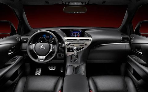 The interior was solid overall, although a bit bland with the option of black