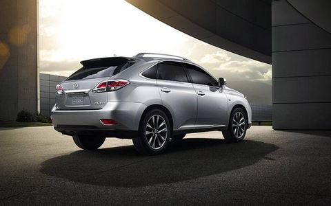 The RX is the benchmark for the luxury crossover market
