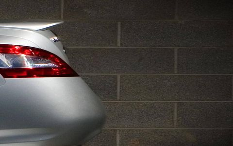 A glimpse of the 2009 Nissan Maxima.