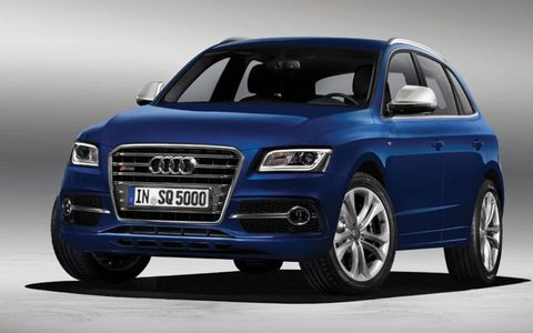 The SQ5 TDI is powered by a 3.0-liter diesel V6