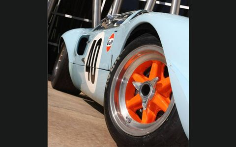 As a camera car, the GT40 kept up with the fast-paced action on the set of Le Mans