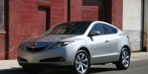 Driver's Log Gallery: 2010 Acura ZDX Advance