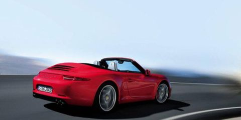 This third-generation Boxster retains its lovely mid- engine proportions while boasting some nifty new design cues.