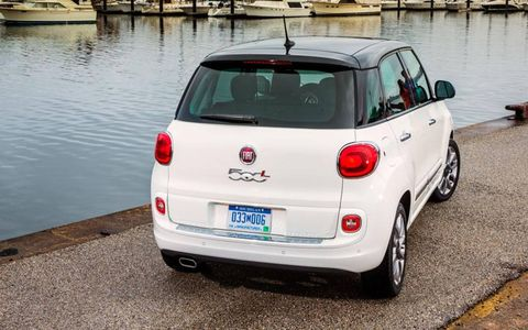 2014 Fiat 500L trims include Pop, Easy, Trekking and Lounge.