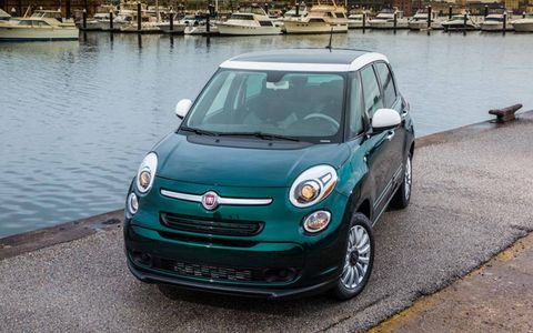 The 2014 Fiat 500L will offer a manual and dual-clutch transmission upon launch.