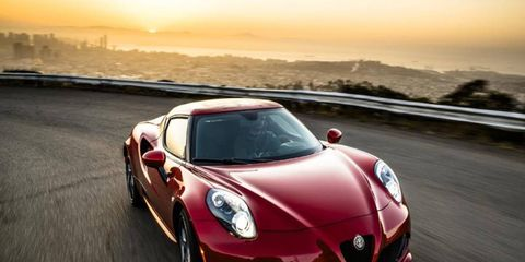 The Alfa 4C is the first of eight new Alfa Romeo models scheduled by 2018. Alfa reiterated its commitment at an LA Auto Show news conference.