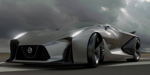 Angry face (check), lots of vents (check), Nissan turns its GT-R up to 11 for Gran Turismo 6.