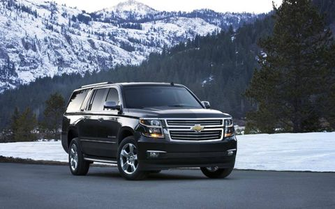 The 2015 Chevrolet Suburban LTZ comes in at a base price of $65,695 with our tester topping off at $72,835.