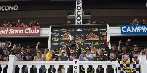 NASCAR Pocono,Long Pond, Pennsylvania USA