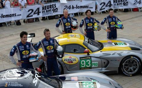 Branding and marketing is running wild once again in France for the 24 Hours of Le Mans.