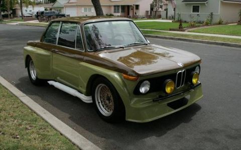 The bid on this 1969 BMW 2002 currently sits under ten grand on eBay.