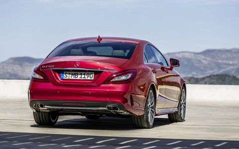 The 2015 CLS adds a 328 hp twin-turbocharged V6 to the line-up