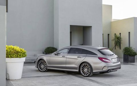 The CLS 500 retains its 4.7-liter V8 with 404 hp and 442 lb-ft of torque.