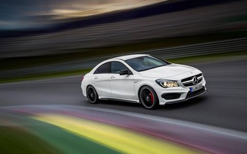 The 2014 Mercedes-Benz CLA 45 AMG is the German automaker's attempt to connect with younger buyers -- and build a new set of Benz loyalists.