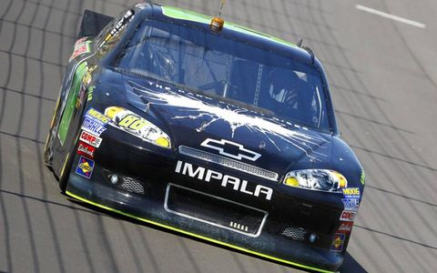 Dale Earnhardt snapped a 143-race winless streak on Sunday at Michigan.