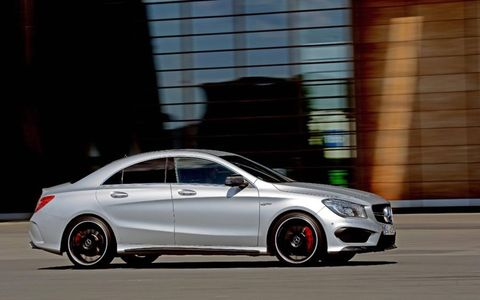 The CLA 45 AMG has a base price of $48,375, making it far cheaper than the next cheapest AMG product -- the C63 AMG sedan.