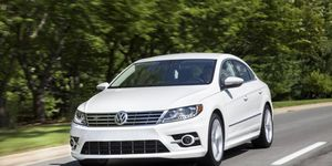 Our test 2014 Volkswagen CC R-Line comes in at the base price of $33,890.