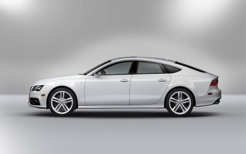 The 2013 Audi S7 receives an EPA-estimated 17 mpg city and 27 mpg highway.