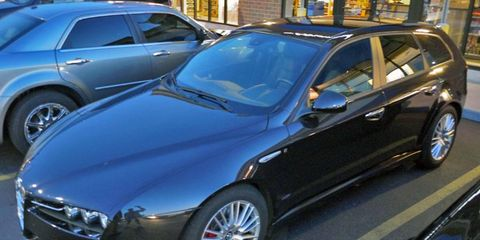 The Alfa Romeo 159 is available in both sedan and wagon body styles