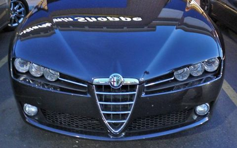 There's no mistaking Alfa Romeo's signature grille