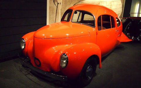 The radically styled 1937 Airomobile