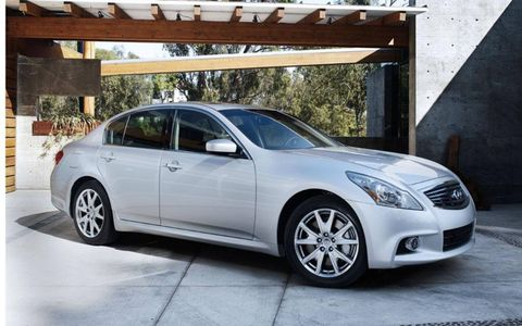 The G37's competes against formidable foes such as the BMW 3-series and Mercedes C-class
