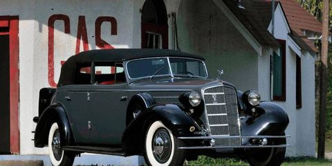 Top seller: this 1934 Cadillac Fleetwood V12 All-Weather Phaeton, one of three produced, sold for $200,000