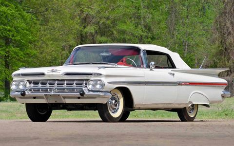 This 1959 Chevrolet Impala convertible could have been yours for $110,000
