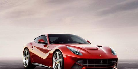 Pininfarina worked with Ferrari's in-house designers on the F12 Berlinetta.