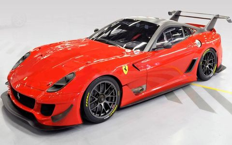 This one-off Ferrari 590XX sold for $1.8 million