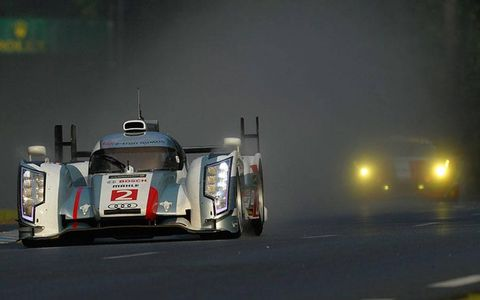 The evening in France produced a strong 1-2-3 qualifying effort for Audi at Le Mans.