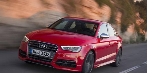 The 2015 Audi S3 starts at $41,995.
