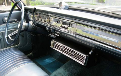 Cruise in space age, air-conditioned comfort