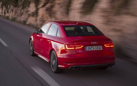 The 2015 Audi S3 goes on sale late this summer.