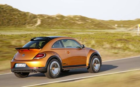 The Beetle Dune is still a concept awaiting production approval.