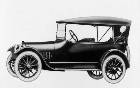 Buick switched the powerplant in its Model D 45 Touring from a four-cylinder to a six-cylinder in 1916, just in time to take advantage of surging American auto sales.